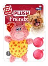 GiGwi Plush Friendz, Gris