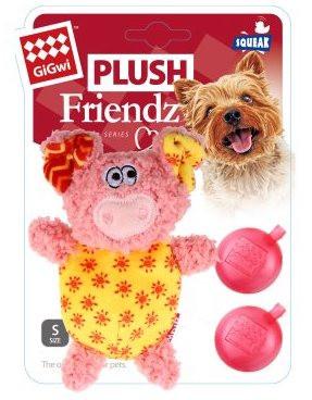 GiGwi Plush Friendz, Gris, Stort utvalg forskjellige kosedyrleker til hund