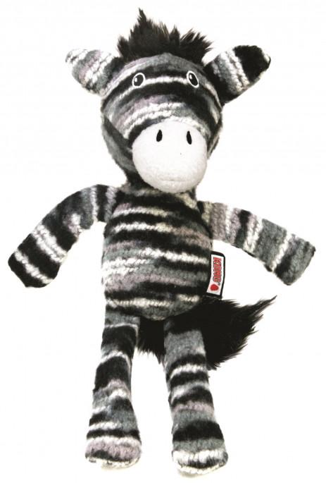 KONG Yarnimals Zebra, Stort utvalg forskjellige kosedyrleker til hund