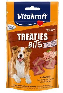 Vitakraft Treaties Bits leverpostei, Stort utvalg Godbiter og Snacks til Hunder
