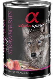 Alpha Spirit Stør & Jordbær Våtfór