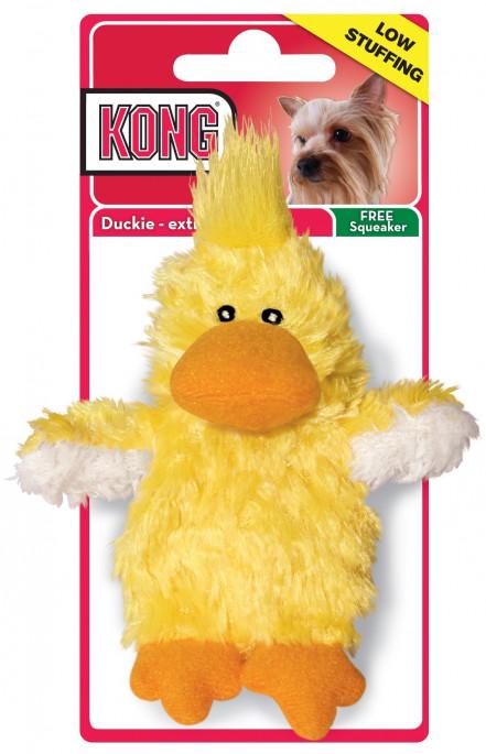 KONG Plysj And, Stort utvalg forskjellige kosedyrleker til hund