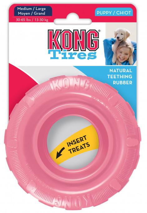 KONG KONG Puppy Tires, Rosa, Andre Hundeleker