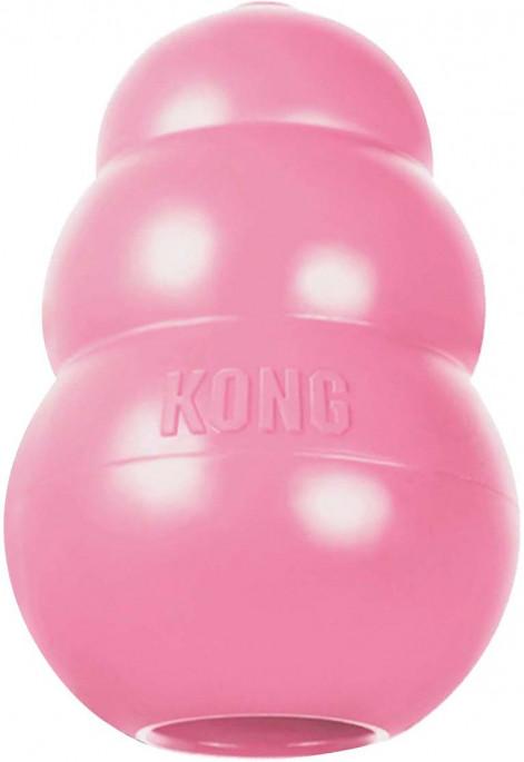 KONG Original Puppy, Rosa, Hjernetrimsleker og aktiviseringsleker