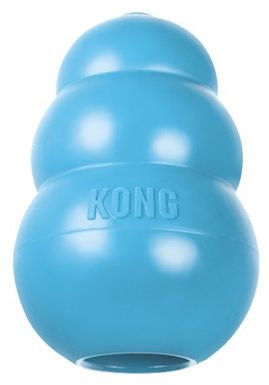 KONG Original Puppy, Blå, Hjernetrimsleker og aktiviseringsleker