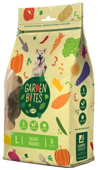 Duvo Garden Bites Vegetar Figurer, Tyggeben og Annen Tygg til Hund