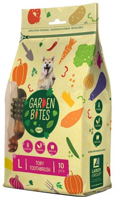 Duvo Garden Bites Vegetar Tannbørste, Tyggeben og Annen Tygg til Hund