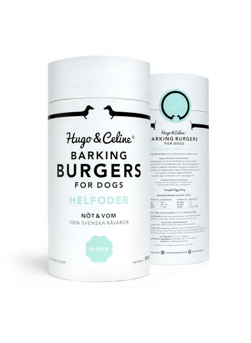 Hugo & Celine Barking Burger, Stort utvalg Godbiter og Snacks til Hunder