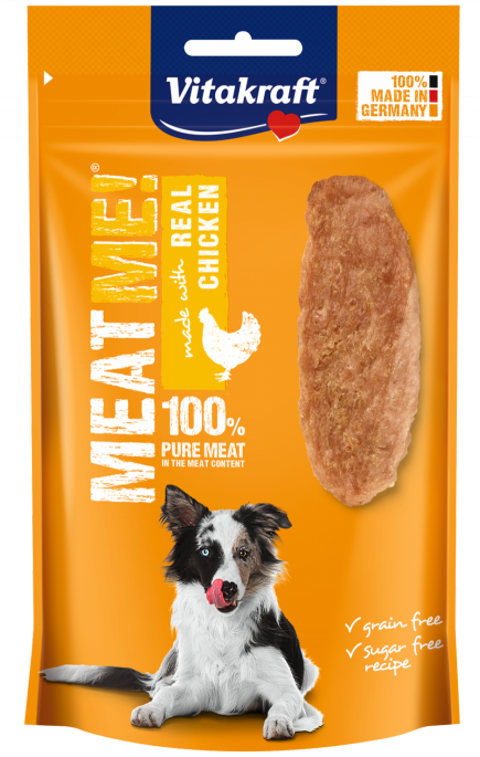 Vitakraft MEAT ME! Kylling, Stort utvalg Godbiter og Snacks til Hunder
