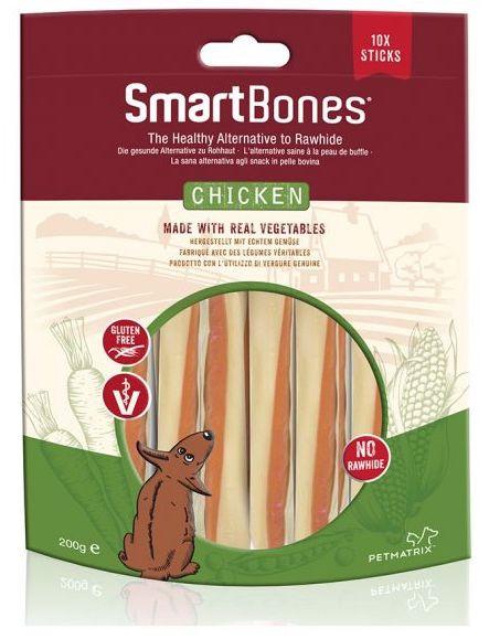 SmartBones SmartBones Kylling - Sticks, Tyggeben og Annen Tygg til Hund