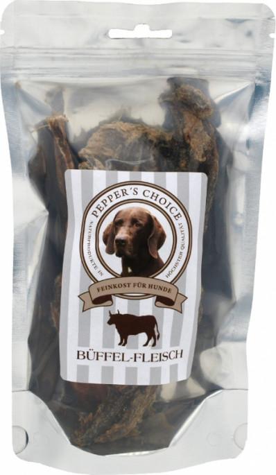 PEPPER´S CHOICE Tørket Bøffelkjøtt, Naturtygg 100% rent