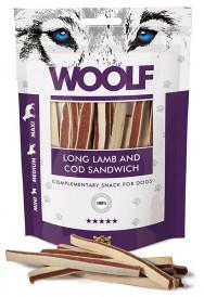 Woolf Lang Sandwich av Lam og Torsk
