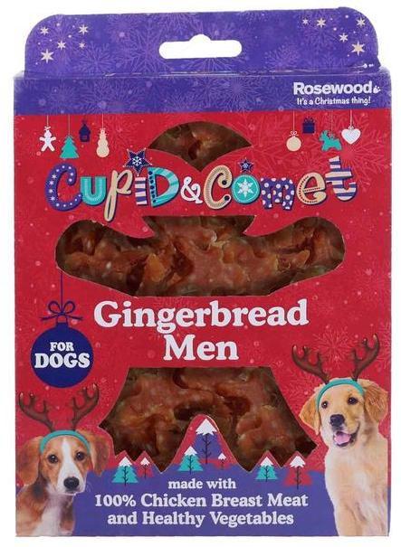 Rosewood Pepperkakemenn, Stort utvalg Godbiter og Snacks til Hunder
