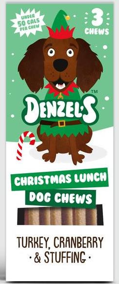 Denzel´s Christmas Lunch, Stort utvalg Godbiter og Snacks til Hunder