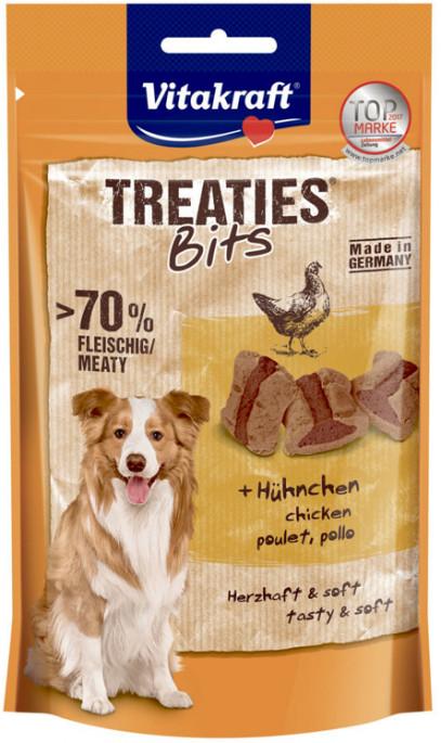 Vitakraft Treaties Bits Kylling, Stort utvalg Godbiter og Snacks til Hunder