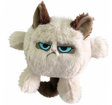 Rosewood Grumpy Cat Head, Stort utvalg forskjellige kosedyrleker til hund
