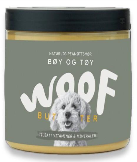 Woof Woof Butter Bøy og Tøy, Stort utvalg Godbiter og Snacks til Hunder