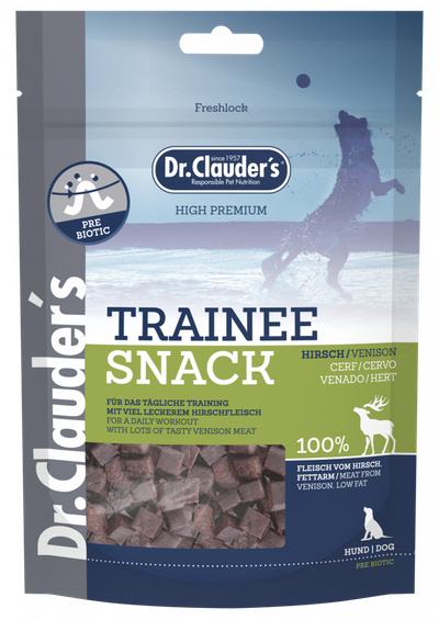 Dr.Clauder´s 100% Hjort, Stort Utvalg Treningsgodbiter til Hund