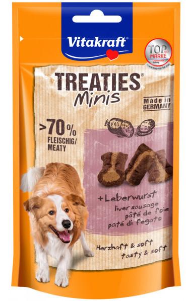 Vitakraft Treaties Minis Lever, Stort utvalg Godbiter og Snacks til Hunder