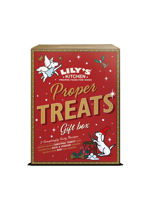Lily´s Kitchen Christmas Meaty Treats Selection Box, Stort utvalg Godbiter og Snacks til Hunder