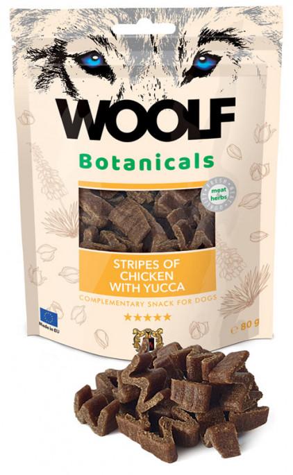 Woolf Botanicals - Kylling & Yucca, Stort utvalg Godbiter og Snacks til Hunder