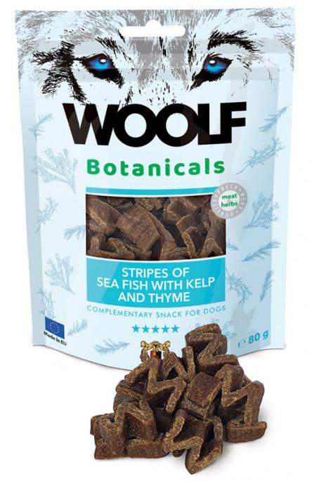 Woolf Botanicals - Fisk & Tang, Stort utvalg Godbiter og Snacks til Hunder