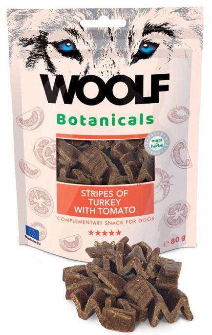 Woolf Botanicals - Kalkun & Tomat, Stort utvalg Godbiter og Snacks til Hunder