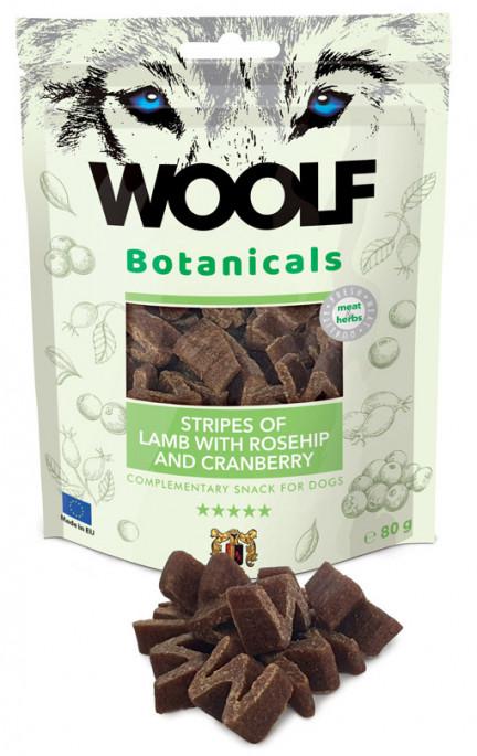 Woolf Botanicals - Lam & Tranebær, Stort utvalg Godbiter og Snacks til Hunder