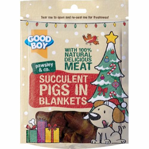Good Boy Saftige Pigs In A Blanket, Stort utvalg Godbiter og Snacks til Hunder