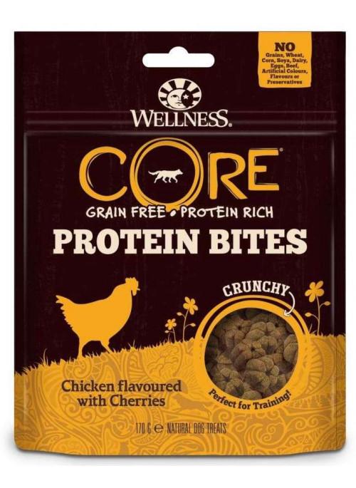Wellness Core Wellness Core Protein Bites Kylling, Stort Utvalg Treningsgodbiter til Hund