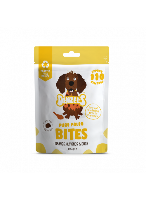 Denzel´s Pure Paleo Bites, Stort Utvalg Treningsgodbiter til Hund