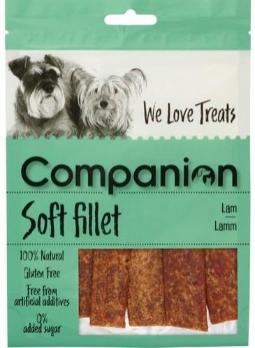 Companion Lamb Fillets, Stort utvalg Godbiter og Snacks til Hunder