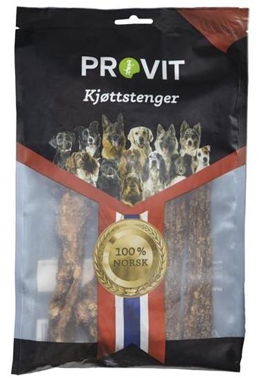 Provit Tørket Kjøttstenger, Naturtygg 100% rent
