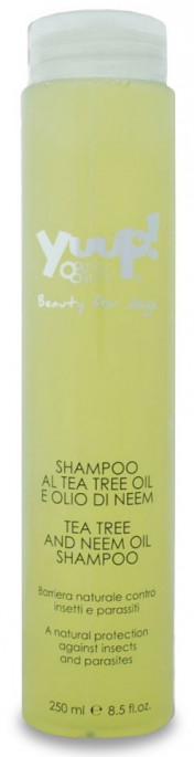 Yuup! Tea Tree and Neem Oil Shampoo, Pleieprodukter til Hund