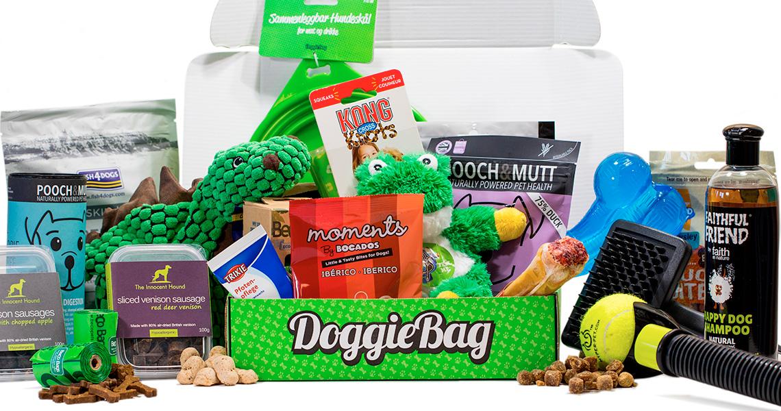 Vi setter ofte sammen pakker til din hund med godbiter og tygg fra forskjellige proteinkilder